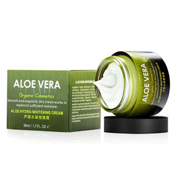 private label organic 100% natural anti aging whitening aloe vera night face cream