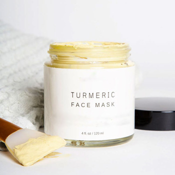 Best Skin Brightening Detoxify Refreshing Natural Turmeric face clay mask Removing Acne Turmeric Orga