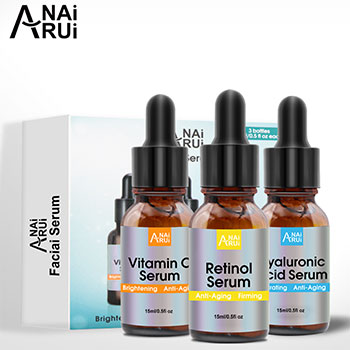 OEM Skin Care Whitening Organic Hyaluronic Acid Essence Moisture Facial Serum Vitamin C Face Serum