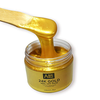 Beauty Korean Cosmetics 24K Gold Peel Off Collagen Facial Mask for Skin Care